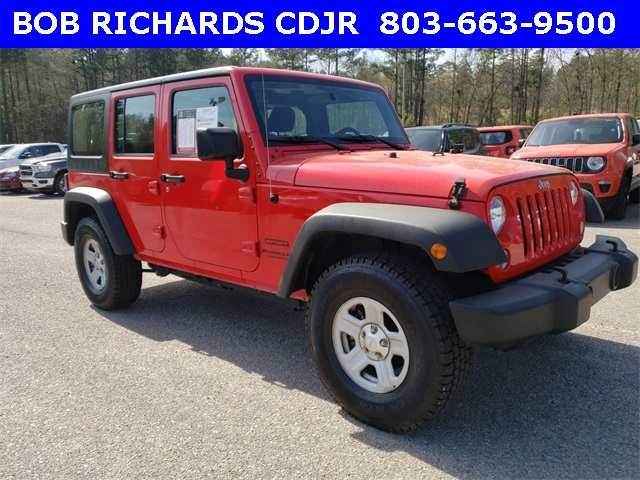 Pre Owned 2015 Jeep Wrangler Unlimited Sport 4d Sport Utility In